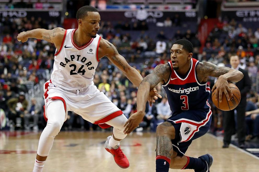 Who will survive the first round of the NBA Playoffs: Toronto Raptors or Washington Wizards?