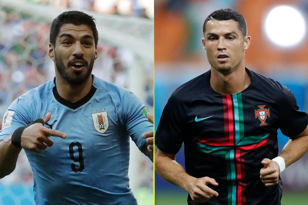 Who will advance to the World Cup quarterfinal: Uruguay or Portugal?