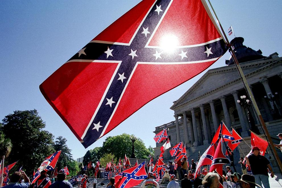 Is it racist to fly the Confederate flag?