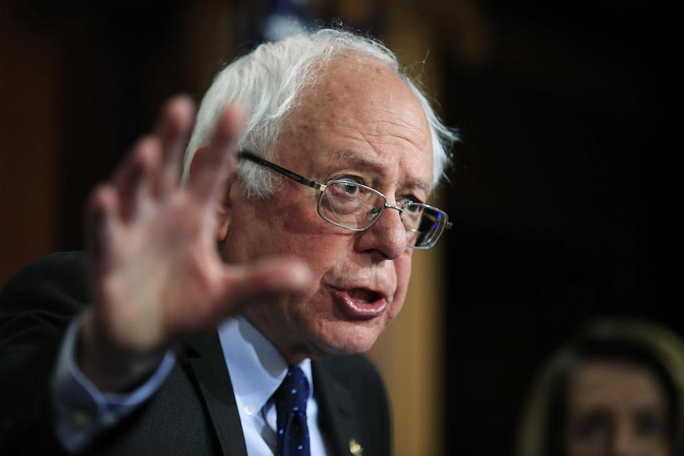 Has Bernie Sanders done enough to condemn Russia?