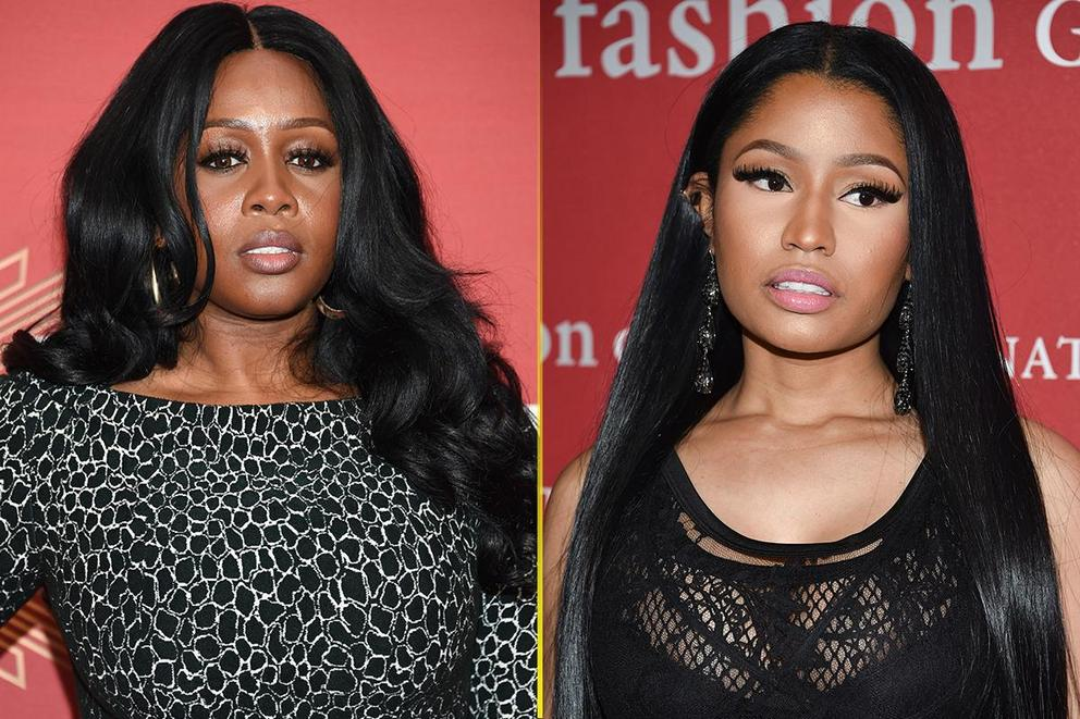 Was Nicki Minaj decked by Remy Ma?