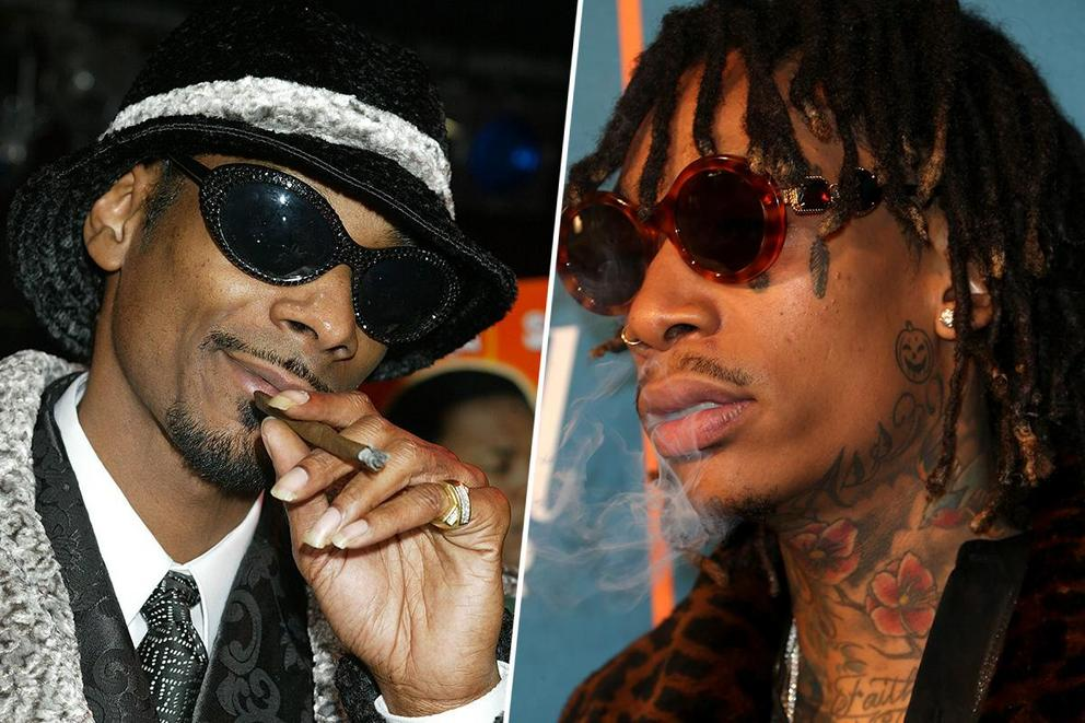 Greatest pothead rapper: Snoop Dogg or Wiz Khalifa?