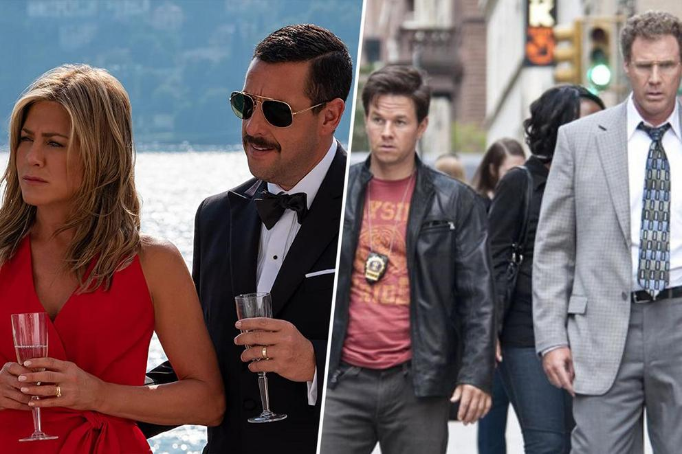 Best crime-comedy movie on Netflix: 'Murder Mystery' or 'The Other Guys'?
