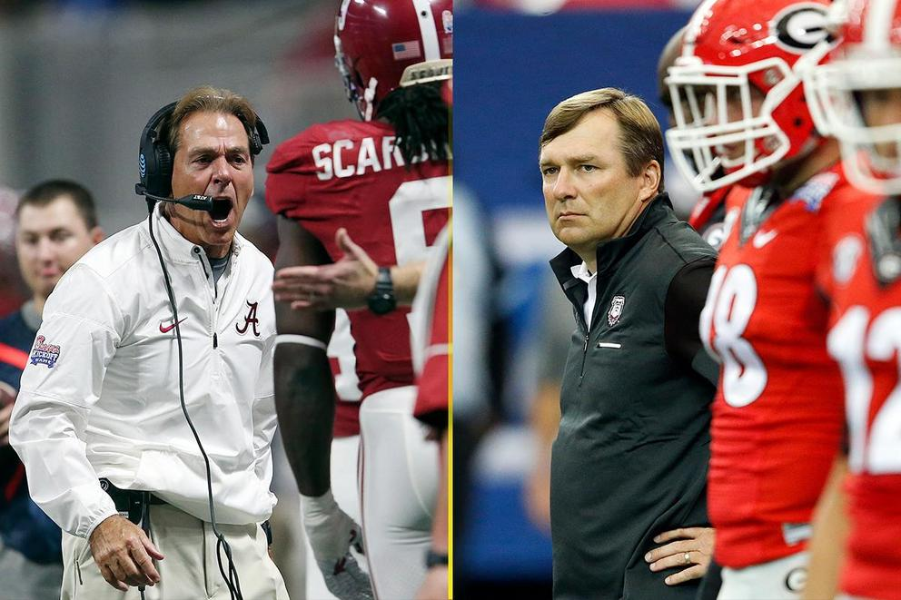 Who is the real No. 1 college football team in the country: Alabama or Georgia?