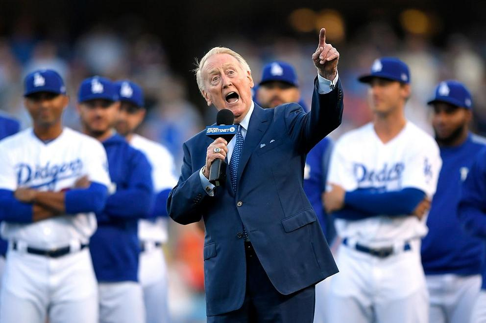 Should Vin Scully come back to call the World Series?