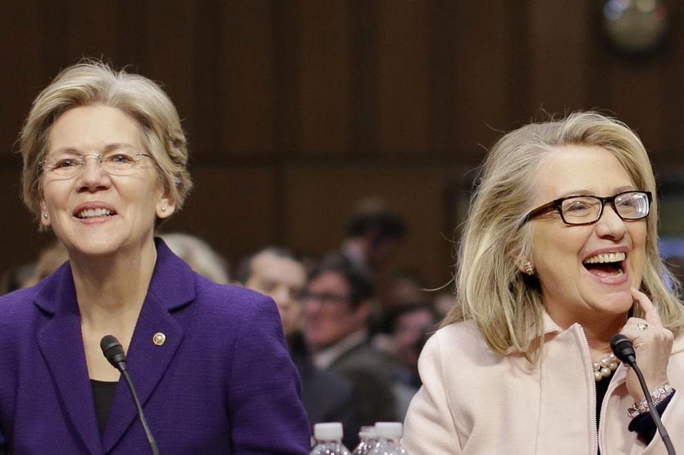 If Hillary Clinton wins the nomination, should she choose Elizabeth Warren as her running mate?