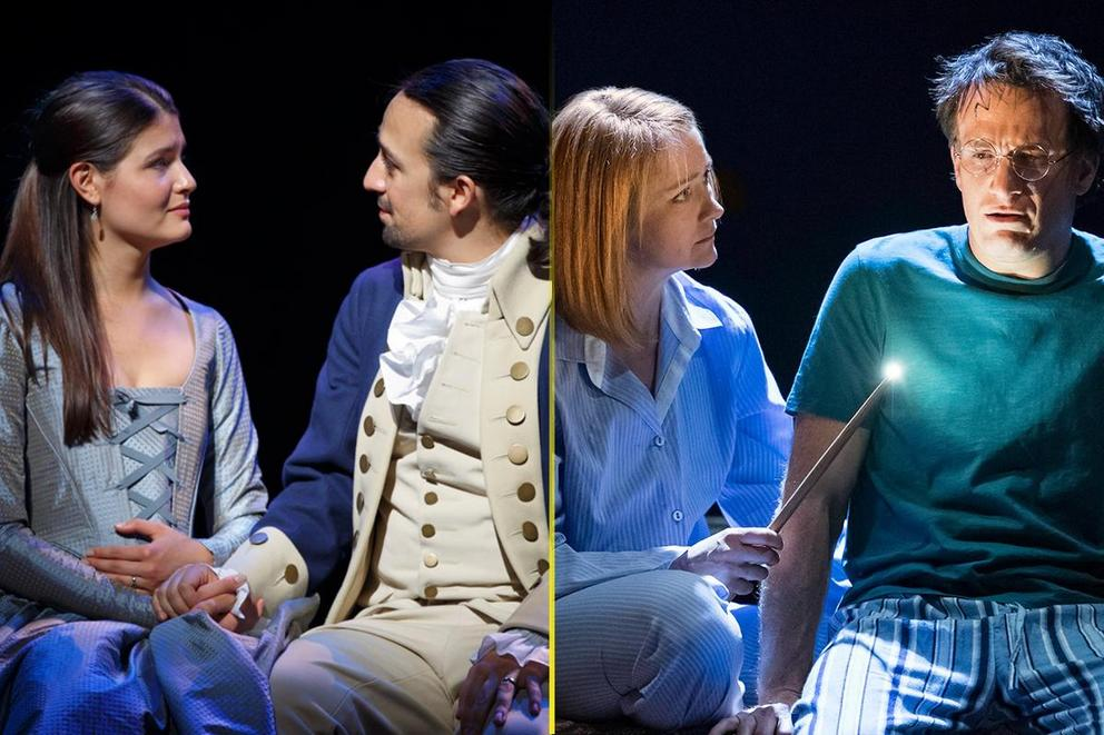 Which Broadway show would you rather see: 'Hamilton' or 'Harry Potter and the Cursed Child'?