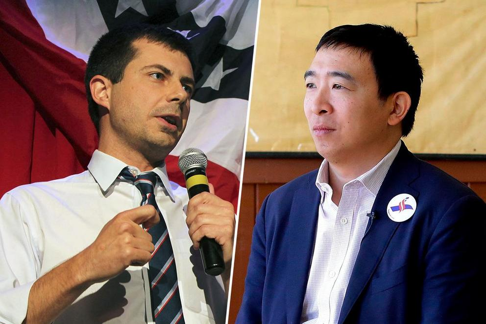 Which underdog candidate are you more excited for: Andrew Yang or Pete Buttigieg?