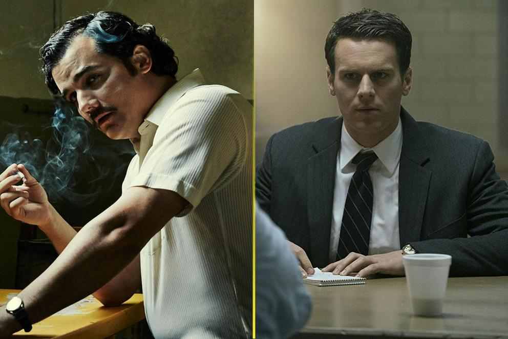 Best Netflix crime series: 'Narcos' or 'Mindhunter'?