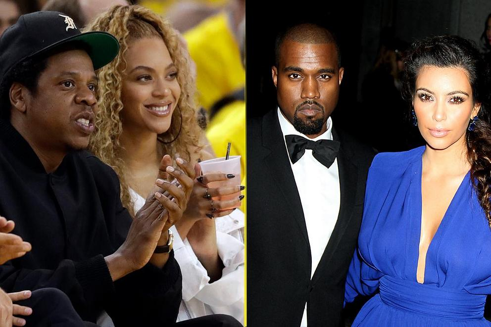 Power couple goals: Beyoncé and Jay Z, or Kanye and Kim?