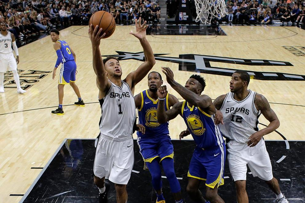 Who will survive the first round of the NBA Playoffs: Golden State Warriors or San Antonio Spurs?