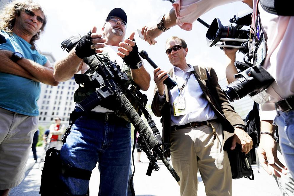 People are openly carrying guns at the RNC: Should that be allowed?