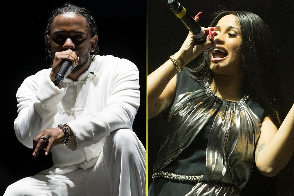 Emcee of the year: Kendrick Lamar or Cardi B?