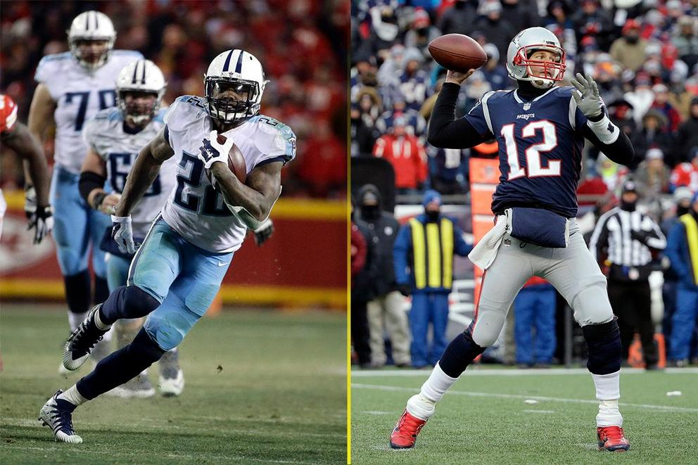 Who will win the NFL Divisional round: Tennessee Titans or New England Patriots?