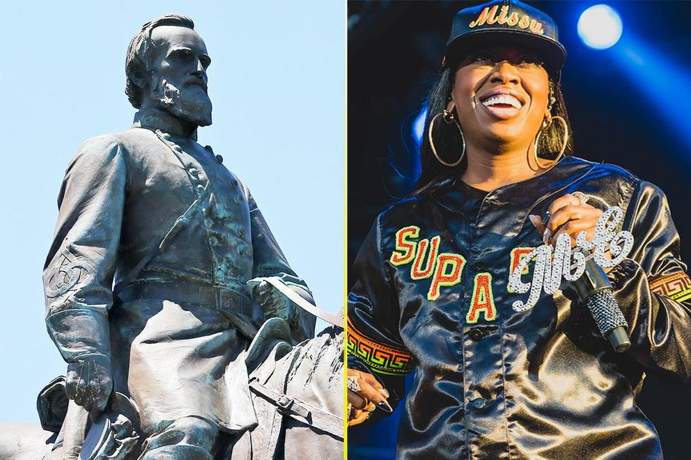 Should we replace Confederate monuments with statues of celebrities?