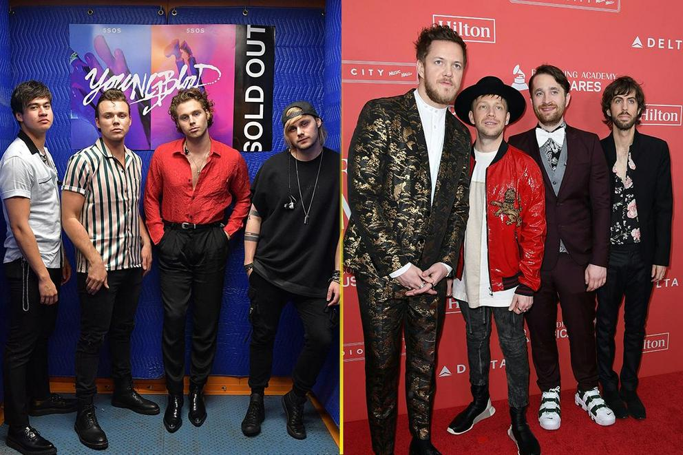 Hottest band of 2018: 5 Seconds of Summer or Imagine Dragons?