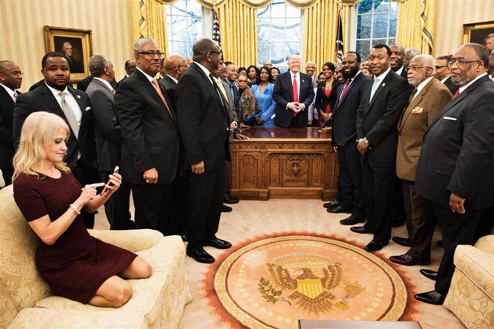 Is it disrespectful to put your feet on the couch in the Oval Office?