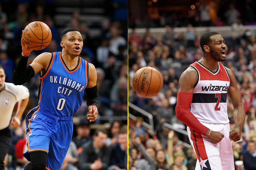 Who's got a better shot at MVP: Russell Westbrook or John Wall?