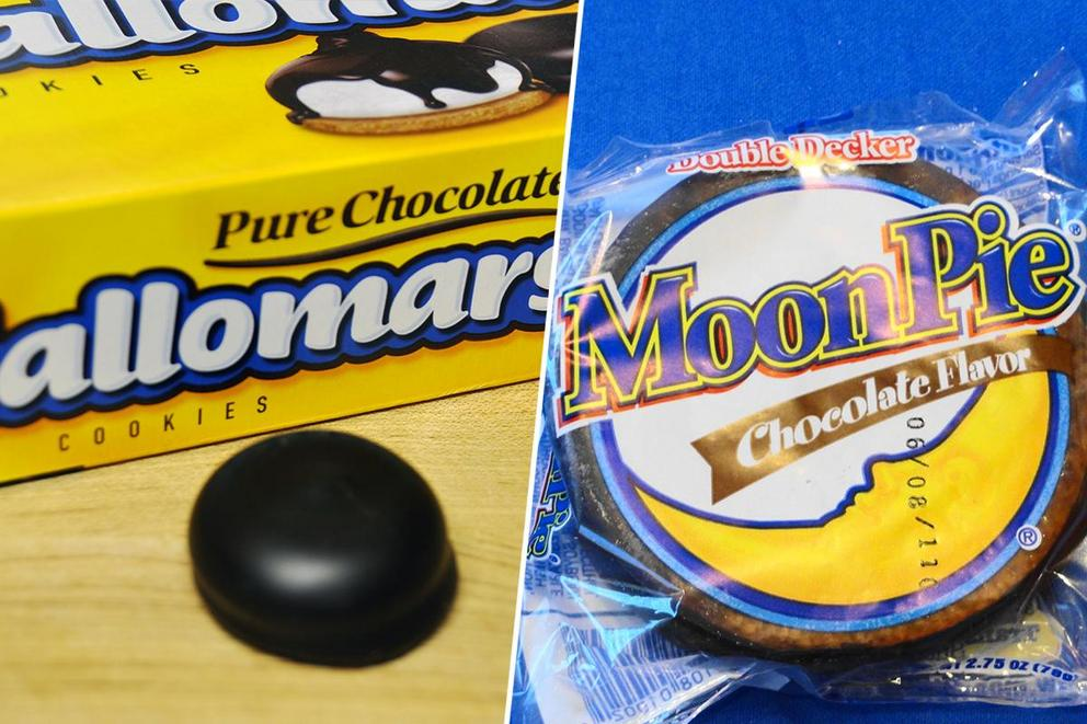 Ultimate s'more cookie: Mallomar or MoonPie?