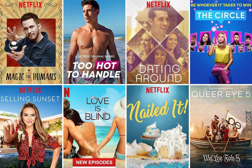 Tylt Recs: Best Netflix reality shows