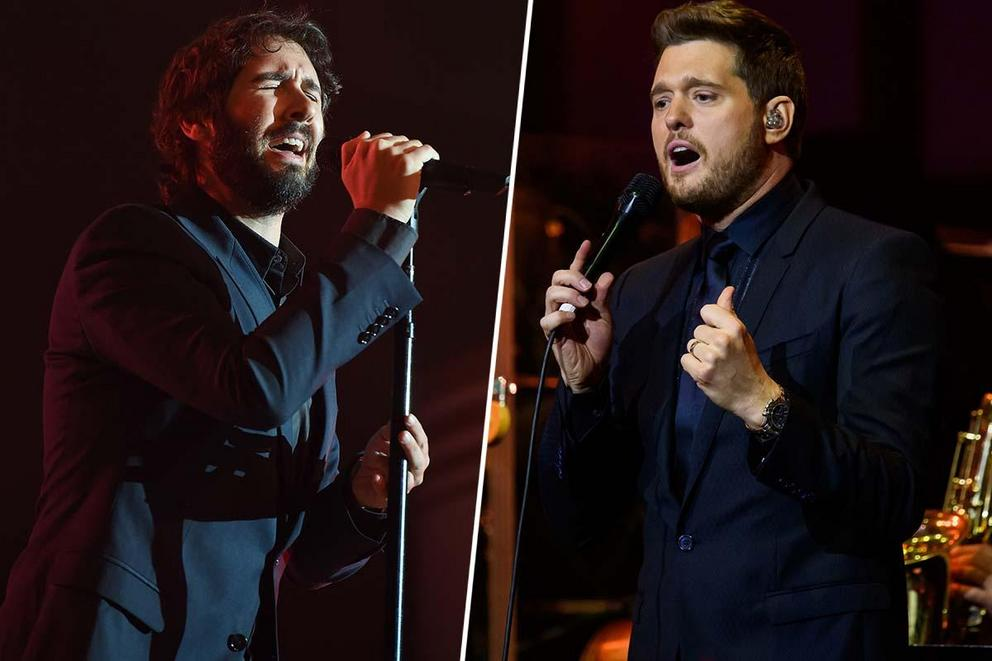 Favorite crossover adult contemporary crooner: Josh Groban or Michael Bublé?