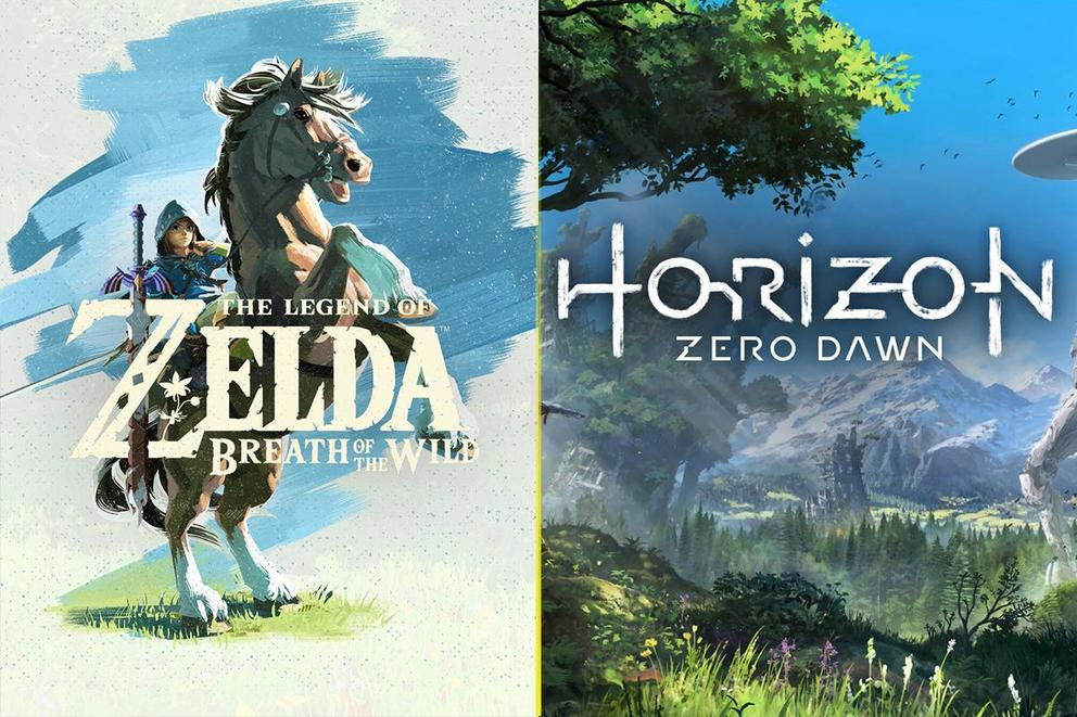 Best open world game: 'Zelda: Breath of the Wild' or 'Horizon Zero Dawn'?