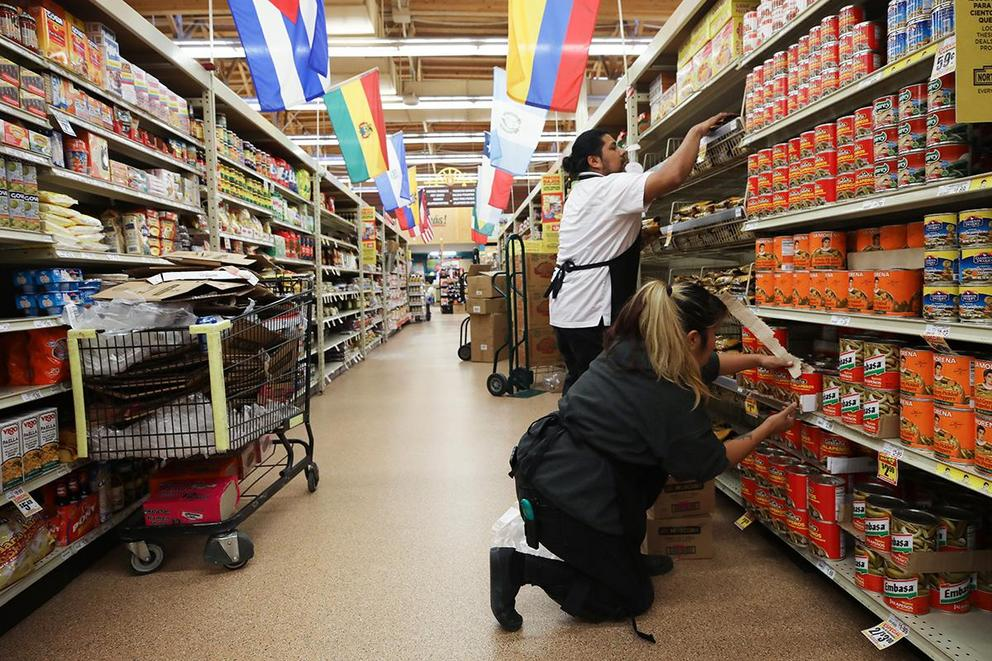 Should grocery store workers be considered emergency workers?