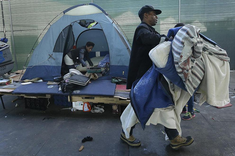 Should San Francisco ban tent encampments?