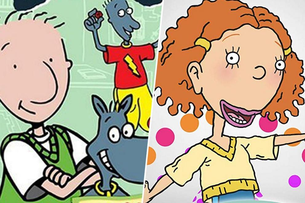 Favorite growing-pains cartoon: 'Doug' or As 'Told By Ginger'?