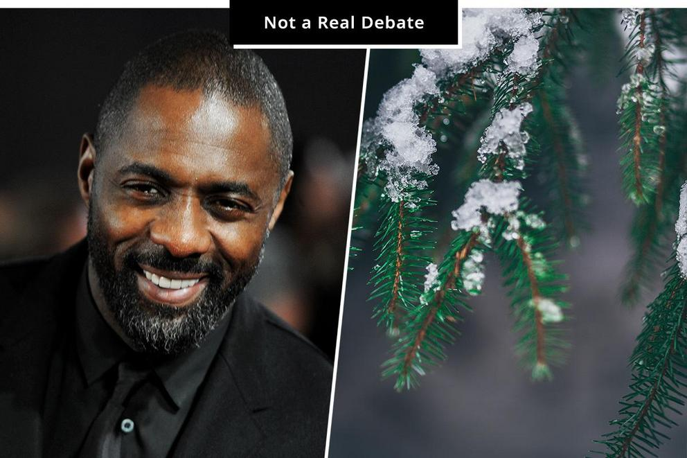 Who should play Scarlett Johansson: Idris Elba or a pine tree?
