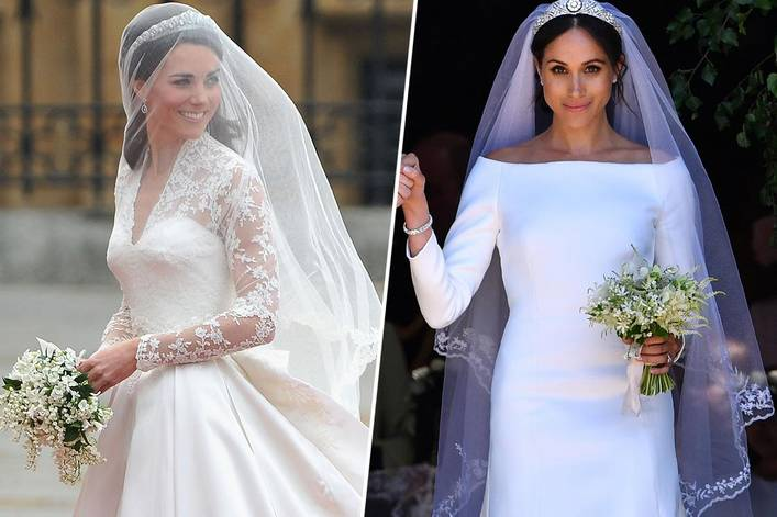 Who wore the best wedding dress: Kate Middleton or Meghan Markle?
