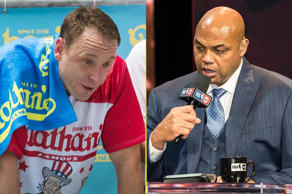 Who would win an eating contest: Joey Chestnut vs. Charles Barkley?