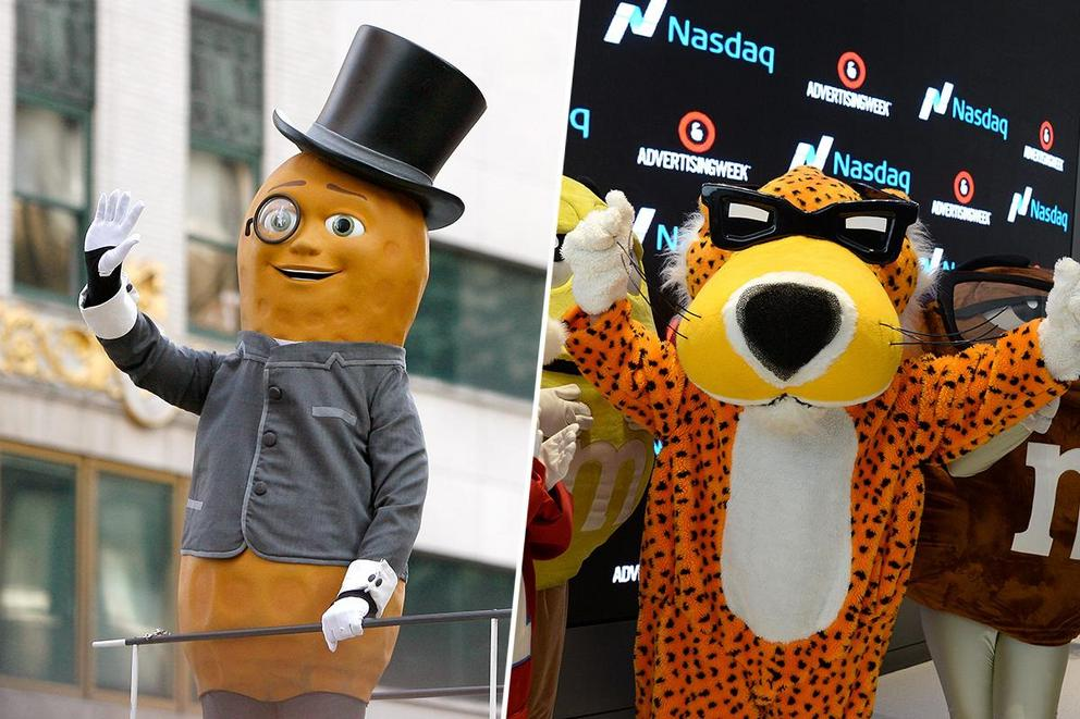 Who's your favorite food mascot: Mr. Peanut or Chester Cheetah?