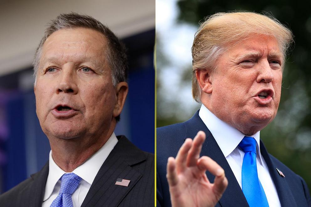 Should John Kasich challenge President Trump in 2020?