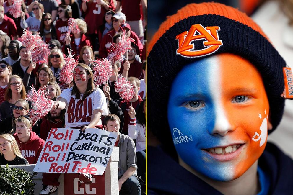 NCAA's Best College Fan Base: Alabama or Auburn?