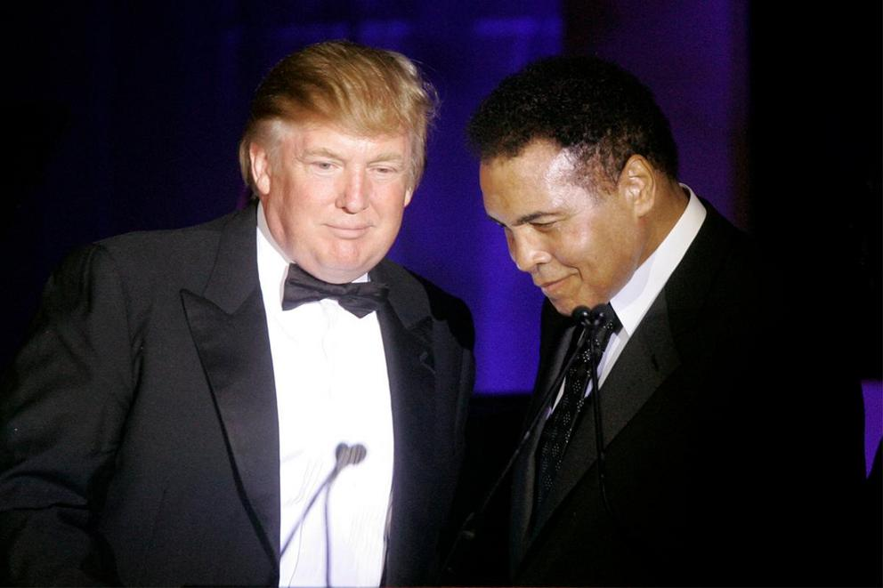 Would Muhammad Ali still be friends with Donald Trump today?