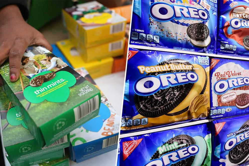 Which cookie brand is your favorite: Girl Scout Cookies or Oreos?