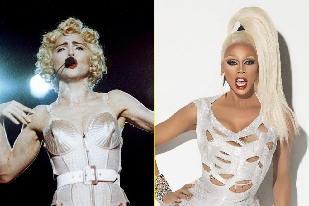 Music's greatest gay icon: Madonna or RuPaul?