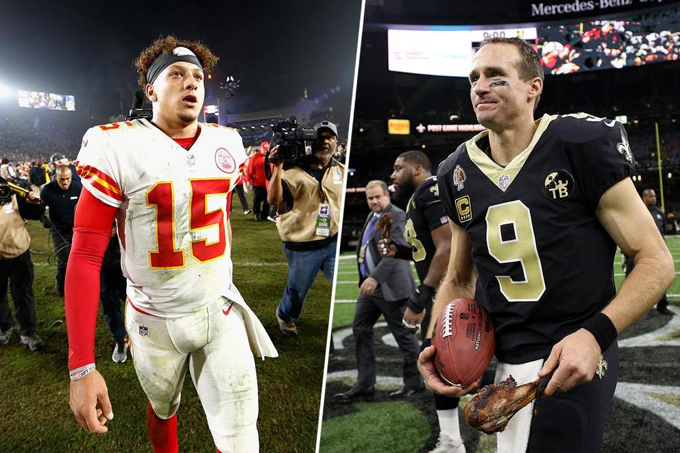 Who is the 2018 NFL MVP: Patrick Mahomes or Drew Brees?