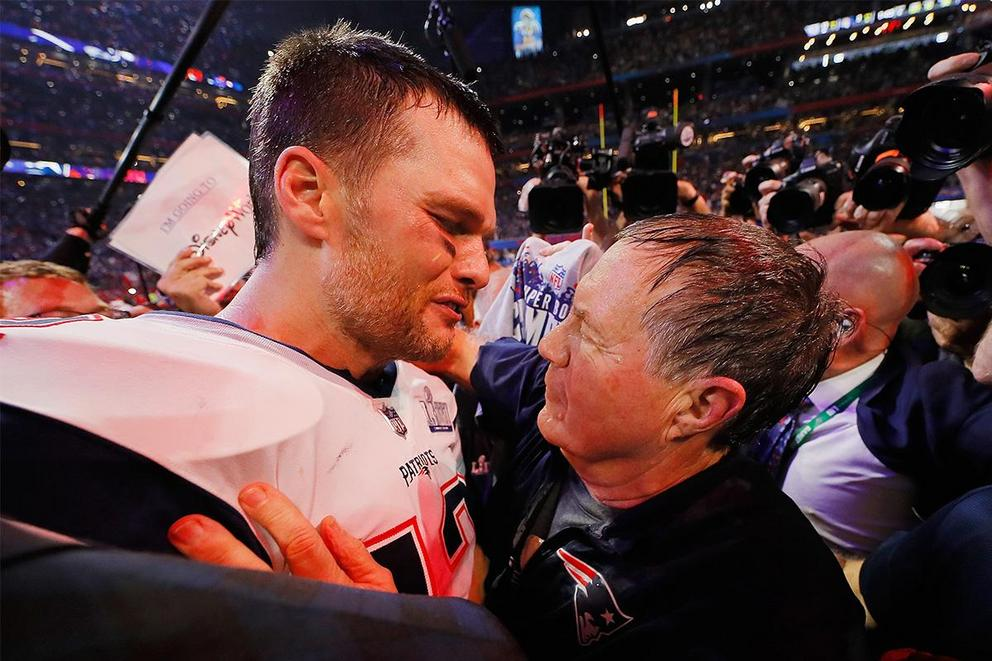 Who should get credit for New England's success: Tom Brady or Bill Belichick?