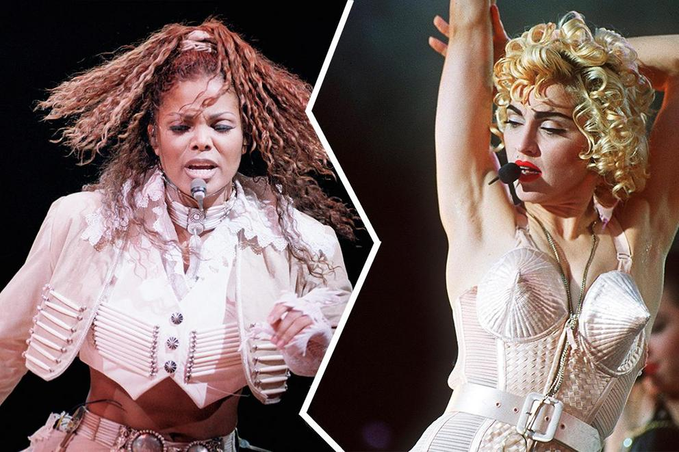 Who's the ultimate Pop Queen: Janet Jackson or Madonna?