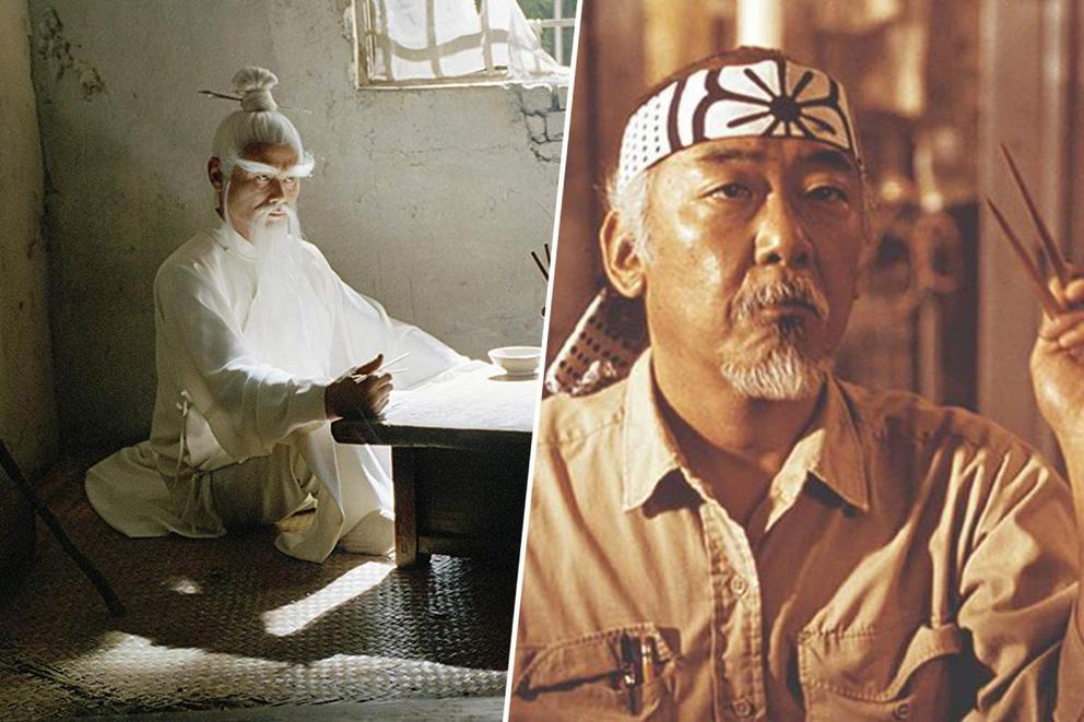 Who's teaching you martial arts: Pai Mei or Mr. Miyagi
