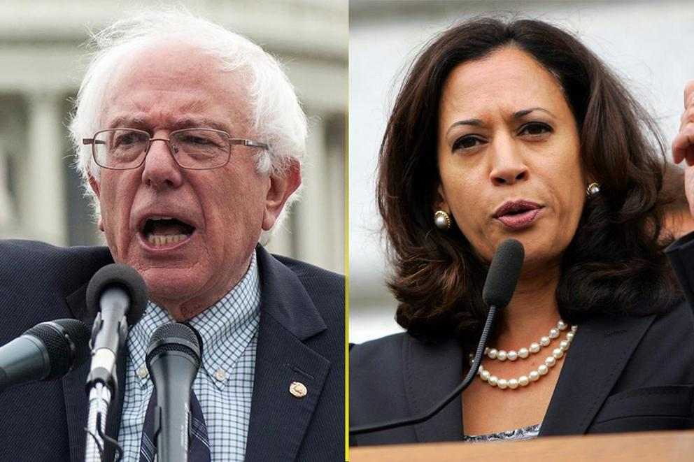 Who should Democrats nominate in 2020: Bernie Sanders or Kamala Harris?