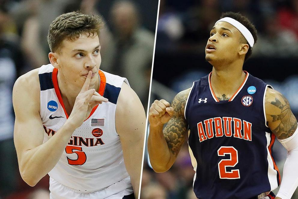 Who weathers the Final Four: Virginia or Auburn?