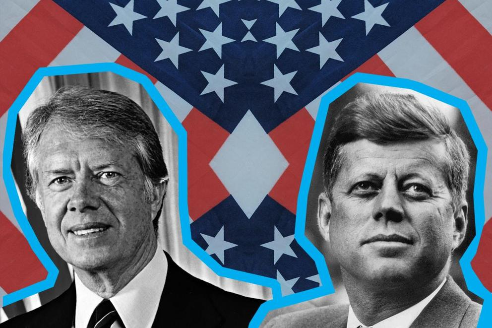 Most influential president: Jimmy Carter or John F. Kennedy?