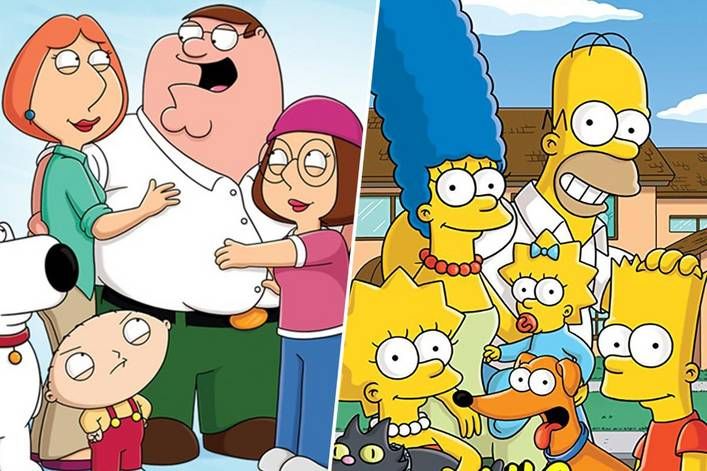 Greatest adult cartoon of all time: 'Family Guy' or 'The Simpsons'?