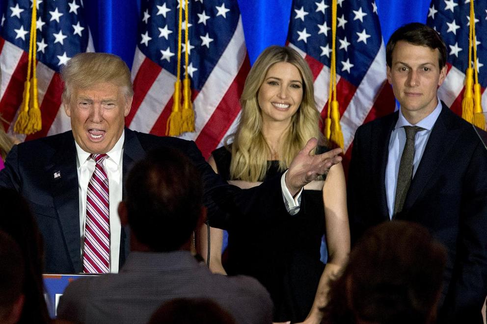Should President Trump fire his family?