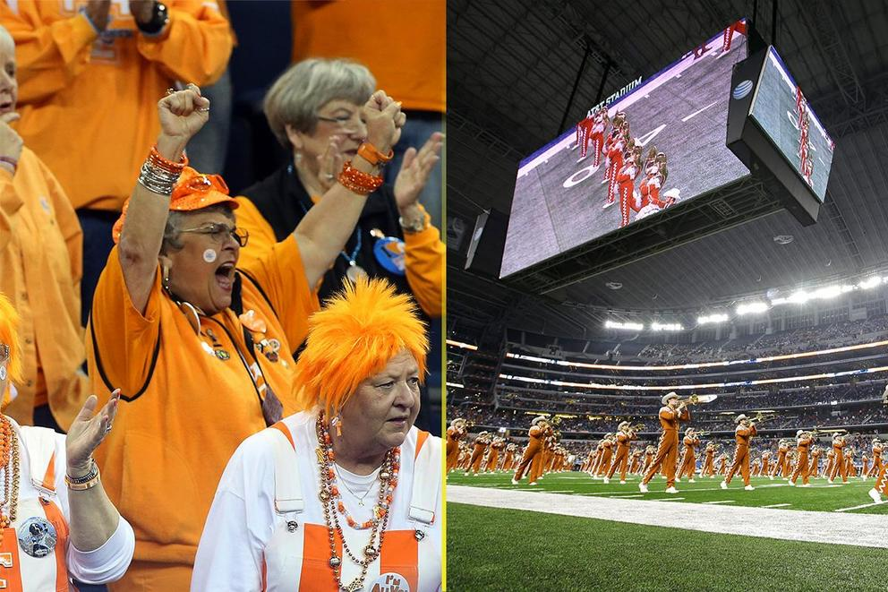Best college fight song: Tennessee or Texas?