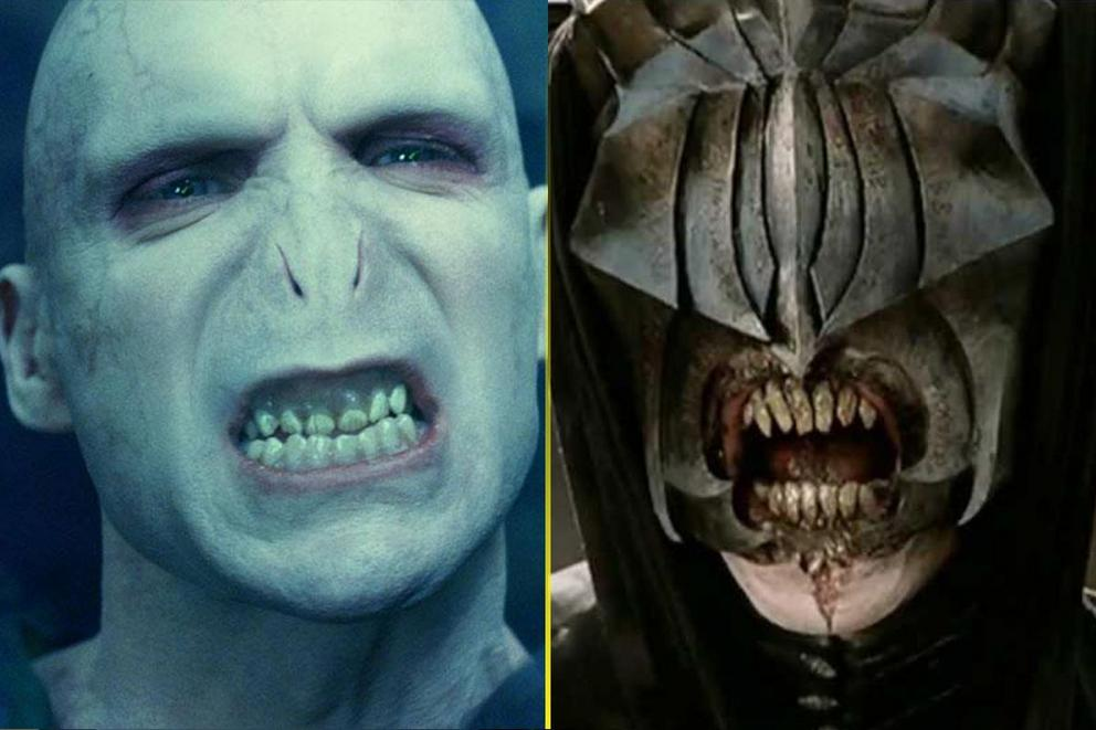 Who is more evil: Voldemort or Sauron?