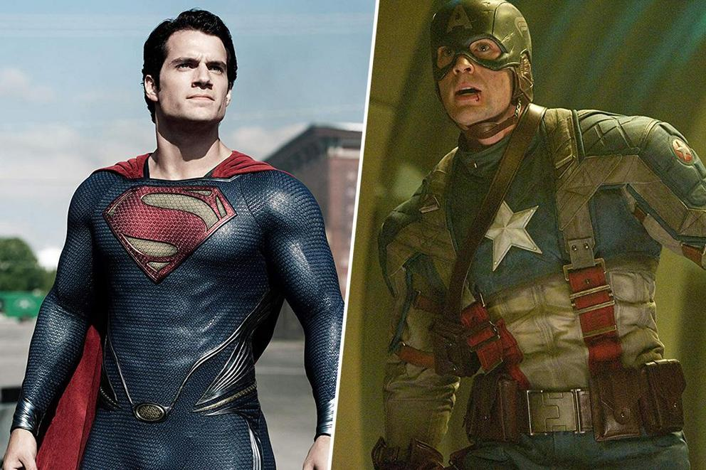 Who's the best All-American hero: Superman or Captain America?